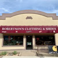 Robertson's Clothing & Shoes Ltd logo