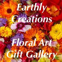 Earthly Creations Floral Art Gift Gallery logo