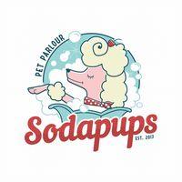 Sodapups Pet Parlour logo