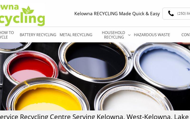 Kelowna Recycling logo