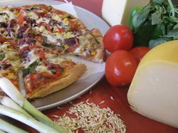 Bellissimo! Pizza logo