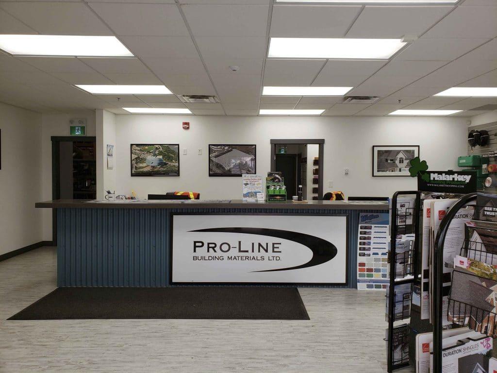 Pro-Line Construction Materials logo