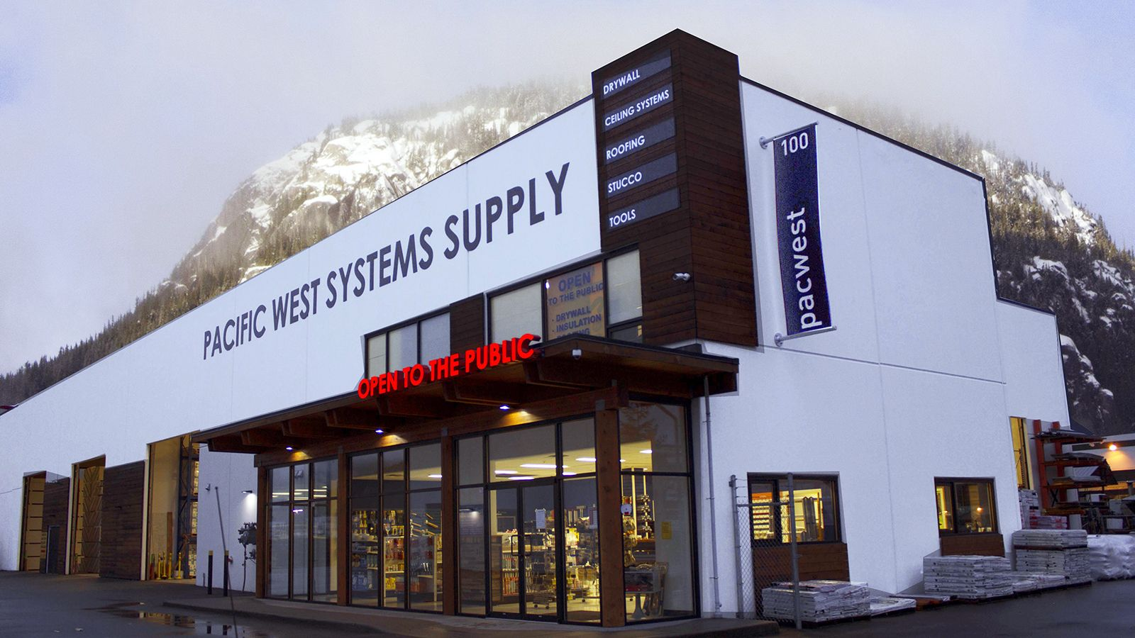 Pacific West Systems Supply Ltd logo