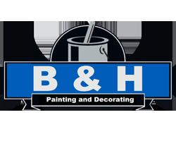 B & H Painting & Decorating logo