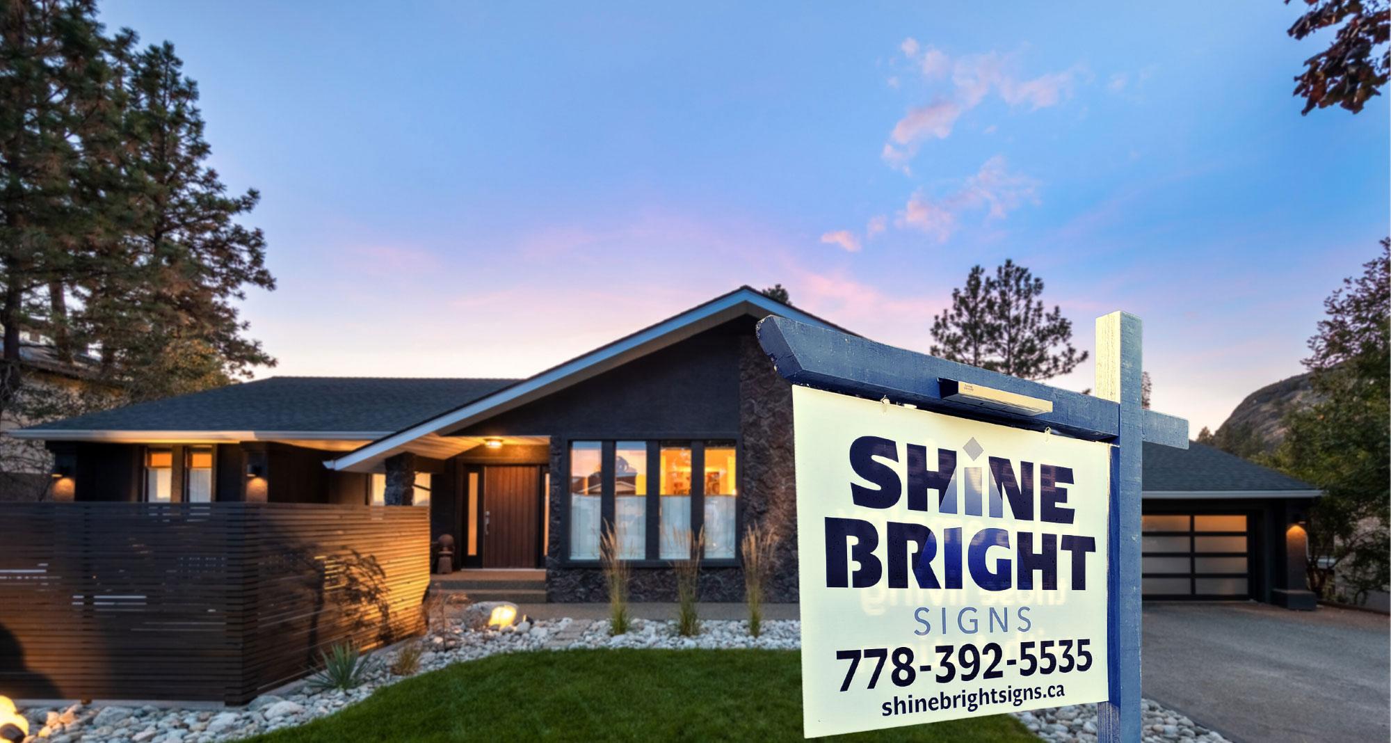 Shine Bright Signs logo