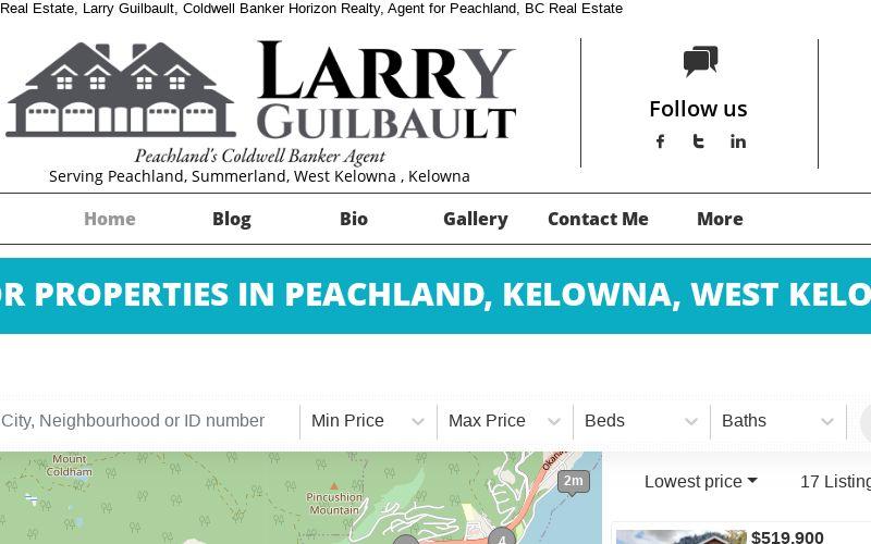 Larry Guilbault Coldwell Banker Horizon Realty logo