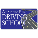A+ Start To Finish Driving School logo