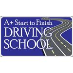 A+ Start To Finish Driving School logo