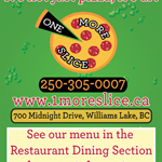 One More Slice Pizza logo