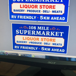 108 Mile Supermarket logo