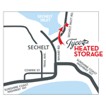 Tyee Heated Storage logo