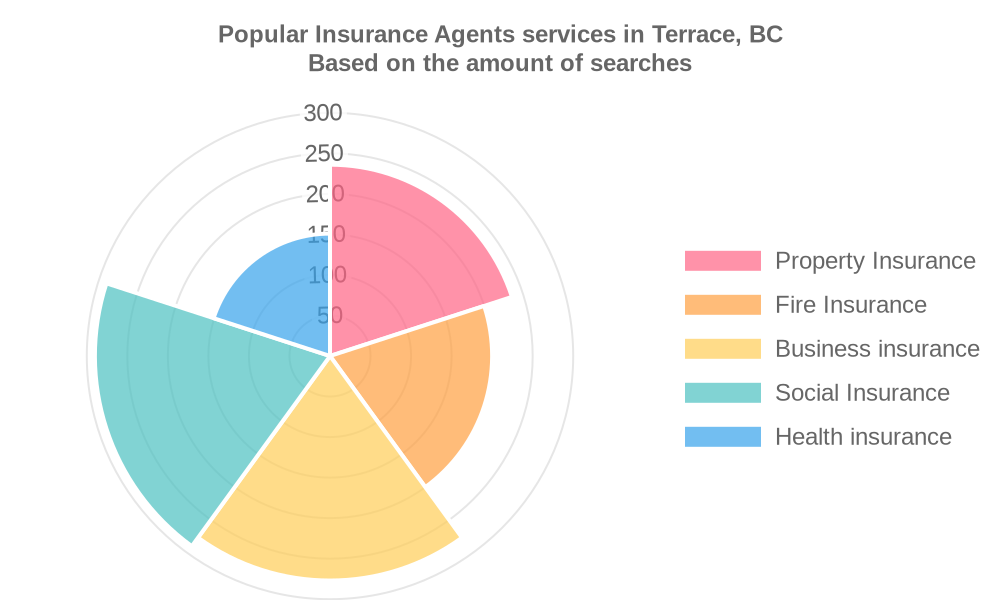 Popular services provided by insurance agents in Terrace, BC