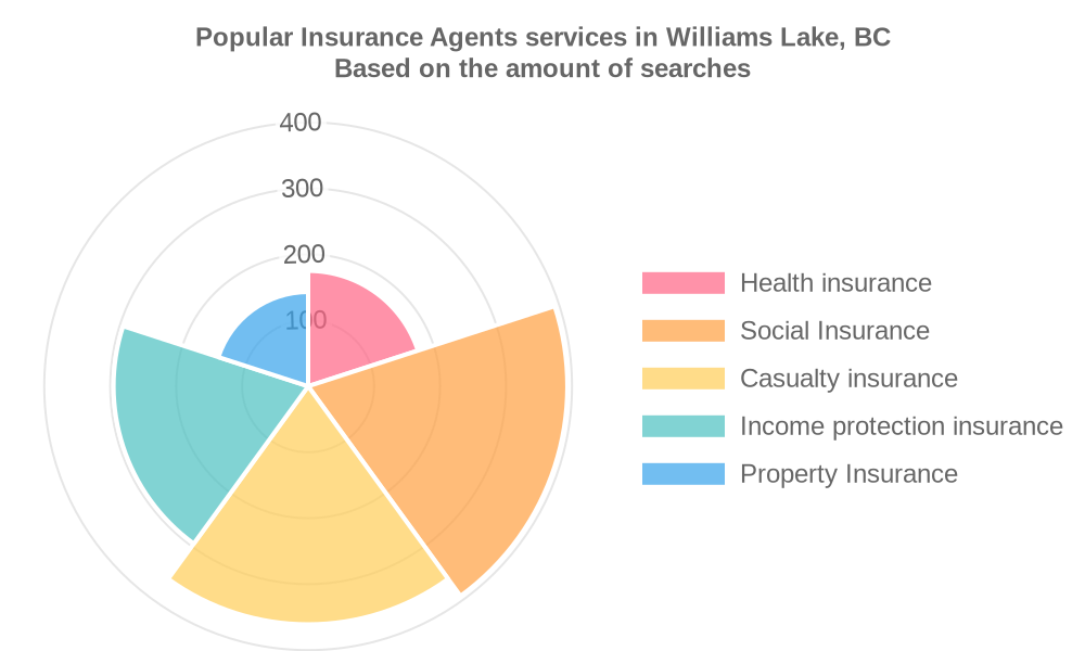 Popular services provided by insurance agents in Williams Lake, BC