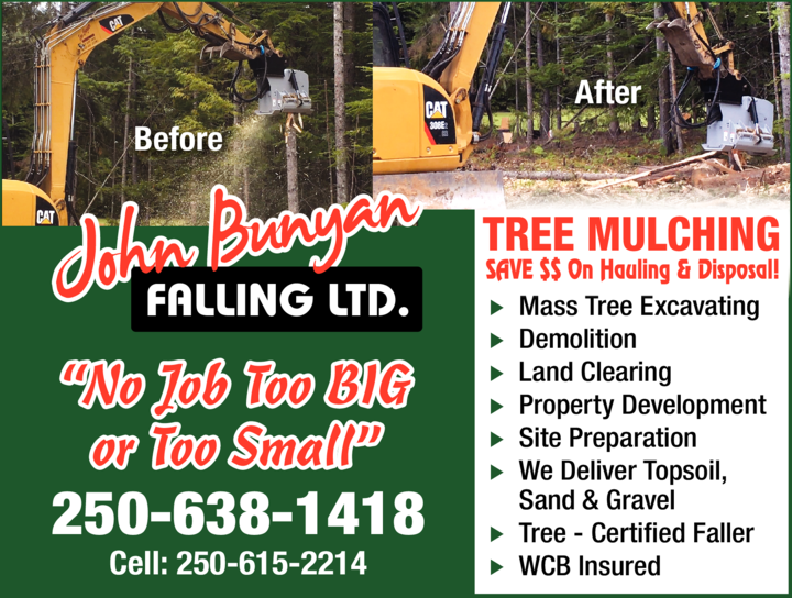 Print Ad of John Bunyan Falling