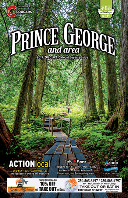 Prince George, BC Print Directory Cover