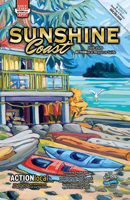 Sunshine Coast, BC Print Directory Cover