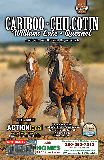 Williams Lake, BC Print Directory Cover